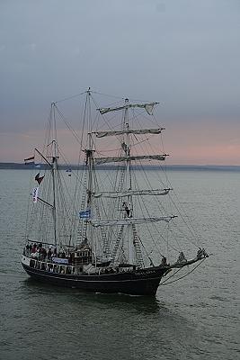 Ankunft in warnem nde zur hanse sail for Urlaub ostsee warnemunde